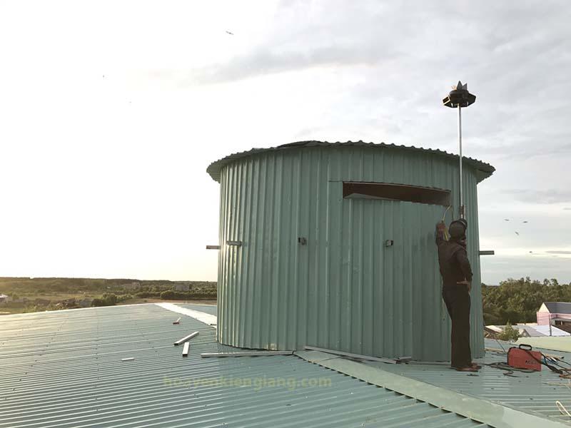 tháp chuồn ku nhà yến hòn đất