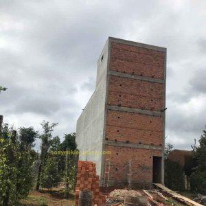 xây dựng nhà yến đak lăk 5x20m2, nhà 4 tầng