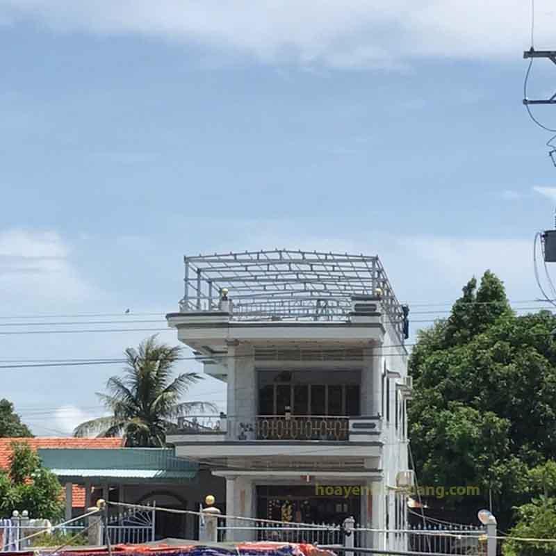 xây dựng nhà yến ở hòn đất